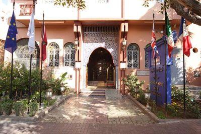 Hotel marokko Djoser accommodatie ontvangst