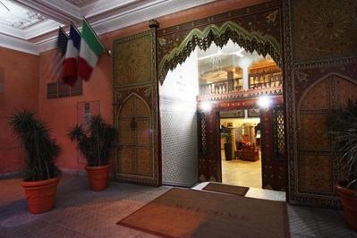 Djoser marokko hotel lobby ontvangst