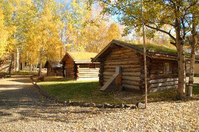 The Driftwood Inn Homer huisjes Alaska accomodatie Djoser