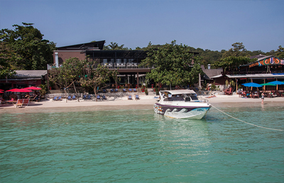 La Lune Beach Resort strand Koh Samed Djoser
