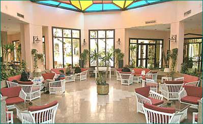 Egypte hotel lobby Djoser