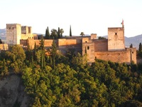 Alhambra Malaga Spanje