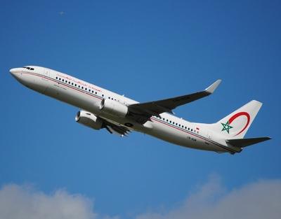 Royal Air Maroc vliegtuig
