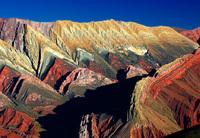 Gekleurde bergen Salta Argentinie