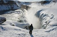 Gulfoss waterval IJsland Djoser
