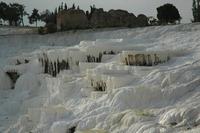Zoutbaden Pamukale Turkije Djoser