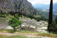 Delphi uitzicht Griekenland Djoser Family
