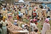 Markt Antananarivo Madagascar