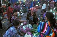 Chichicastenango markt guatamala