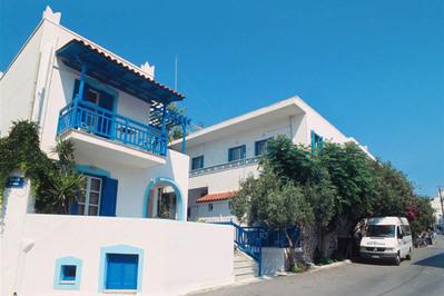 Griekenland hotel accommodatie santorini Djoser
