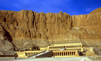 Egypte excursie Westoever tempels Nieuwe rijk Djoser