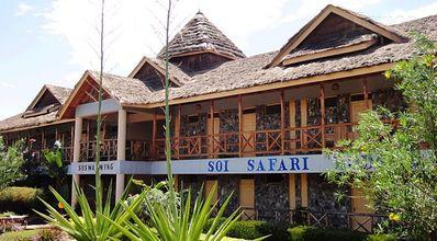 Kenia en Tanzania accommodatie hotel overnachting Djoser