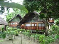 Ecuador Jungle Lodge overnachting Djoser