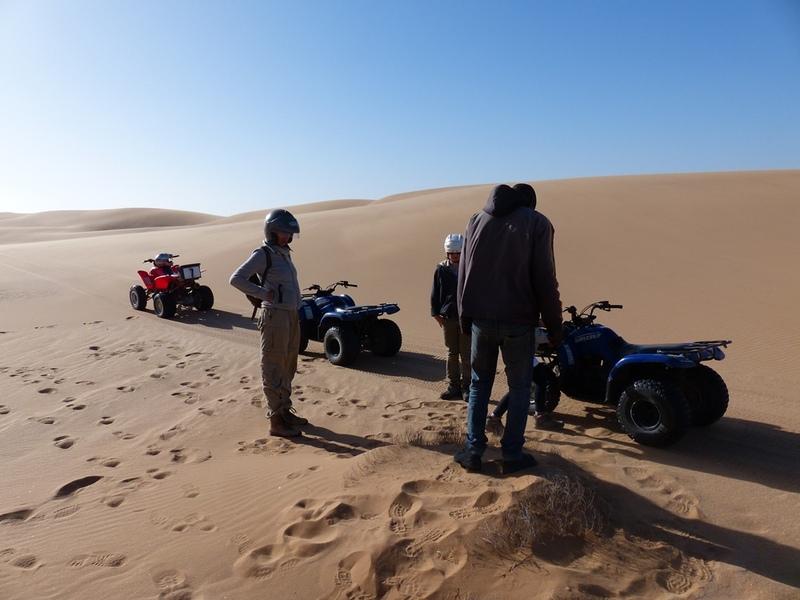 Swakopmund - quadbiken in de duinen