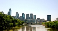 Philadelphia, skyline Amerika Djoser