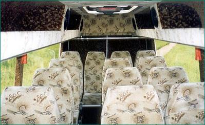 Letland Finland bus vervoersmiddel Djoser