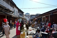 Stone Town Zanzibar markt Djoser