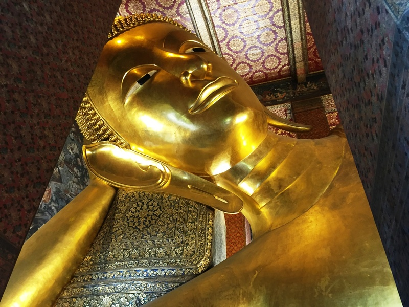 Bangkok liggende buddha