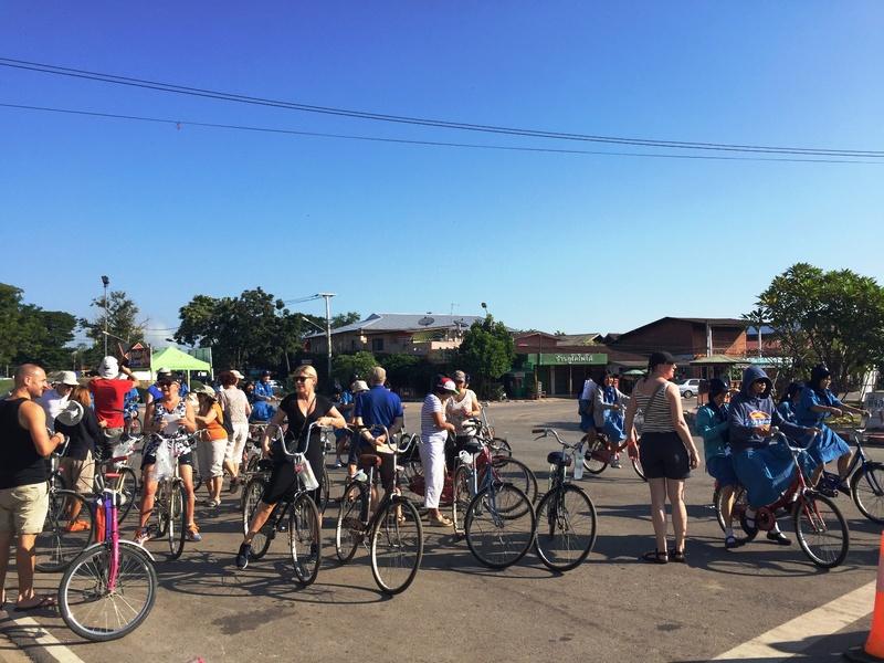 Sukhothai fietstocht