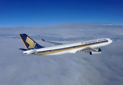 Singapore Airlines vliegtuig Djoser Vietnam en Cambodja