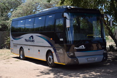 Zuid-Afrika bus vervoersmiddel Djoser