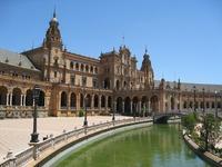 Plaza de Espana Sevilla Spanje