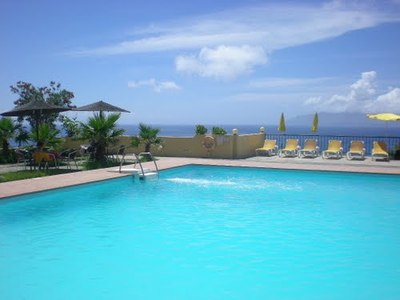 Kaapverdië overnachting zwembad hotel accommodatie Djoser