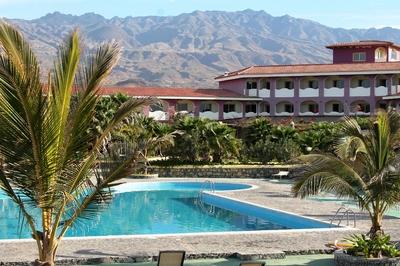 Kaapverdië overnachting zwembad accommodatie hotel Djoser