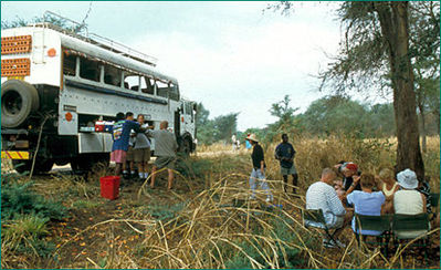 Kenia Tanzania Zanzibar busvervoer Djoser
