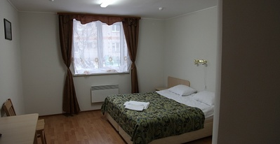 Scandinavië hotel kamer overnachting accommodatie Djoser