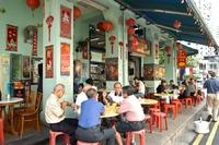 Singapore straat eten Djoser