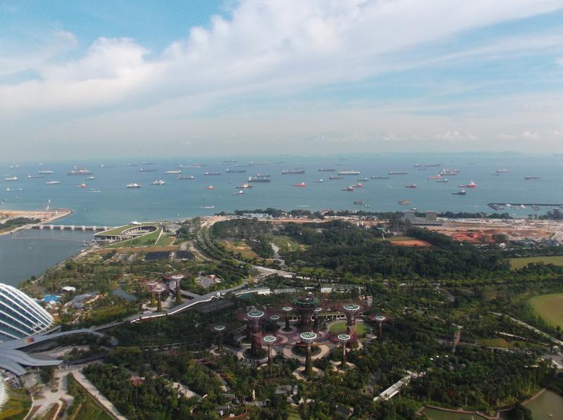 Singapore - Uitzicht