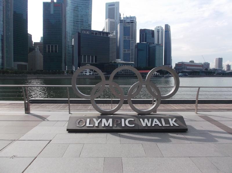 Singapore - Olympic Walk