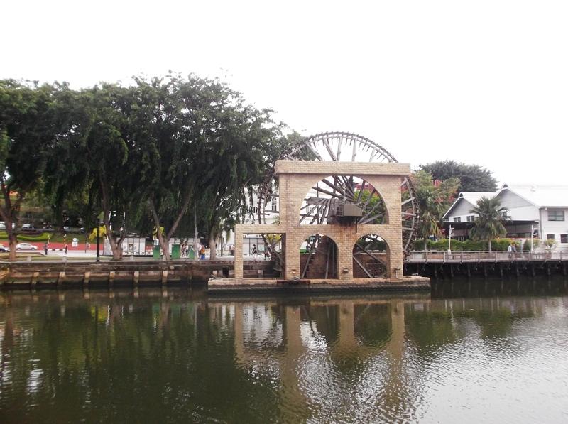 Malakka - Waterrad