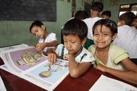 UNICEF Myanmar kinderen school Djoser