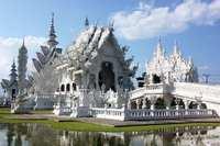 Wat Rong Khun Chian Rai Thailand