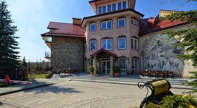 Hotel Bialowieski vooraanzicht Białowieża Polen