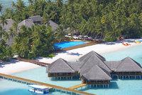 Malediven pool en bar