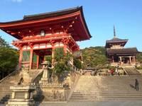 Kyoto Kiyomizu Dera tempel entree Japan Djoser