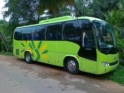 Sri Lanka Malediven rondreis bus vervoersmiddel Djoser