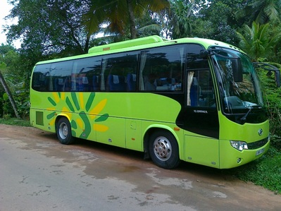 Sri Lanka bus vervoersmiddel rondreis Djoser
