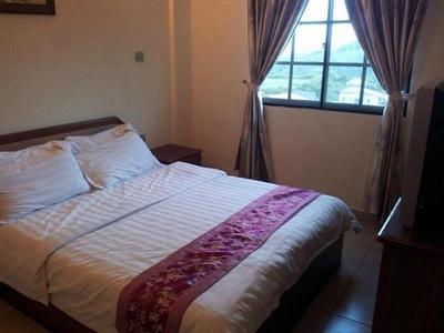 maleisie borneo kinabalu cottage hotel room Djoser