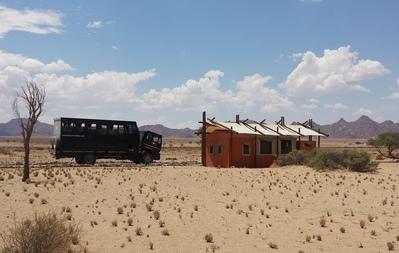 Dessert Camp Sossusvlei Namibië tent Djoser