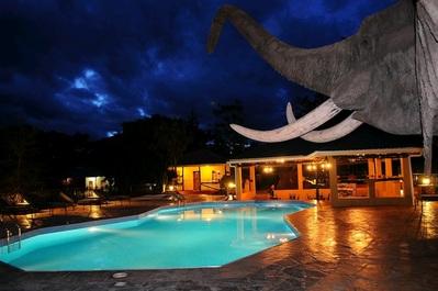Karatu Kudu Lodge & Camp zwembad Tanzania