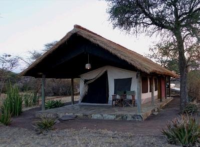 3- Serengeti NP Ikoma Bush Camp tent Tanzania Djoser