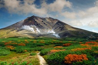 Asahidake vulkaan Japan Djoser