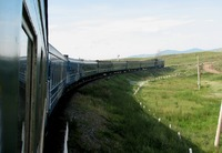 Trans Siberië express trein Family Djoser