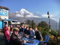 Ontbijt Trekking Nepal Annapurnamassief Djoser