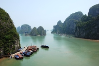 Vietnam en Cambodja Halong Bay rondreis Djoser