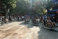 Vietnam en Cambodja Hanoi aankomst Djoser